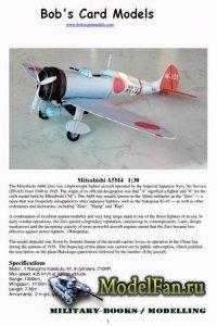 Bob's Card Models - Mitsubishi A5M4