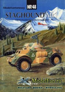 ModelCard №48 - Staghound Mk.I