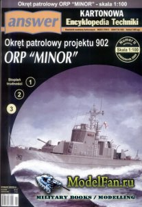 Answer. Kartonowa Encyklopedia Techniki 2004-02 Special - ORP Minor