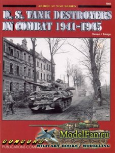 Concord 7005 - U.S. Tank Destroyers in Combat 1941-1945