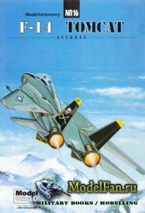 ModelCard №16 - Grumman F-14 Tomcat