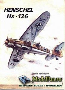 ModelCard №19 - Henschel Hs-126