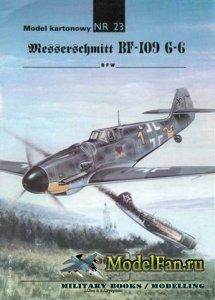 ModelCard №23 - Messerscmitt Bf-109G-6