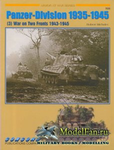 Concord 7035 - Panzer-Division 1935-1945 (3) - War on Two Fronts 1943-1945