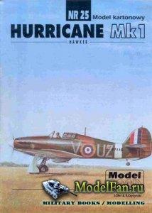 ModelCard №25 - Hawker Hurricane Mk.I
