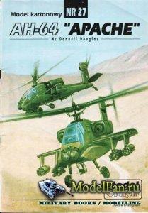 ModelCard №27 - Mc Donnell Douglas AH-64
