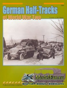 Concord 7054 - German Half-Tracks of World War Two