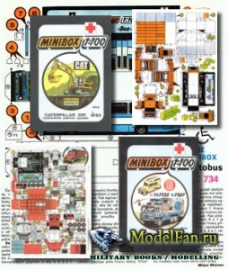 ABC minibox - Модели из бумаги в масштабе 1:100