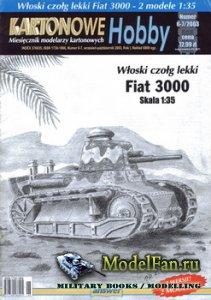 Answer. Kartonowe Hobby 6-7/2003 - Fiat 3000 (2 modele)