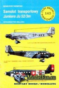 Typy Broni i Uzbrojenia (TBiU) 142 - Junkers Ju 52/3m