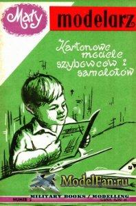Maly Modelarz №2 (1/1958) - Szybowcy i samoloty