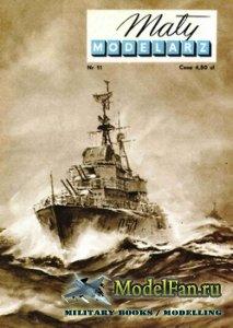 Maly Modelarz №11 (11/1958) - Wspolczesny niszczyciel eskortowy