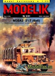 Modelik 2/2001 - M35 A2 2 1/2T (6x6)
