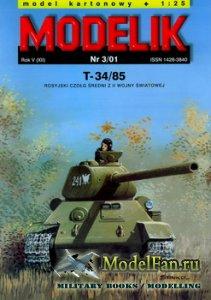 Modelik 3/2001 - T-34/85