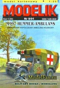 Modelik 8/2001 - M997 Hummer-Ambulans