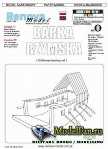 Renova Model - Barka Rzymska