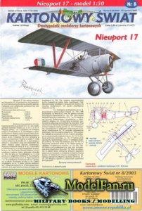 Answer. Kartonowy Swiat 8/2003 - Nieuport 17