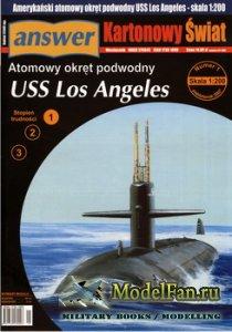 Answer. Kartonowy Swiat 1/2007 - USS Los Angeles