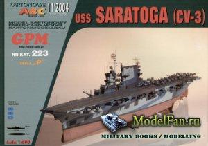 GPM 223 - USS Saratoga (CV-3)