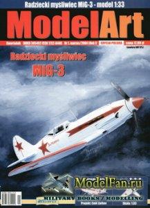 Answer. ModelArt 1/2004 - Mig-3