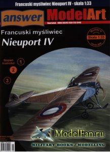 Answer. ModelArt 5/2006 Special - Nieuport IV