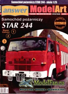 Answer. ModelArt 2/2006 - Star 244