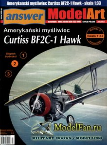 Answer. ModelArt 3/2006 - Curtiss BF2C-1 Hawk