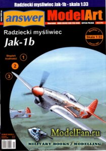 Answer. ModelArt 1/2007 - Jak-1b
