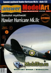 Answer. ModelArt 3/2007 - Hawker Hurricane Mk.IIc