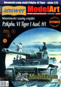 Answer. ModelArt 5/2007 - PzKpfw. VI Tiger I Ausf. H1
