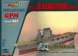 GPM 231 - USS Lexington (CV-2)