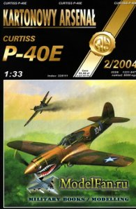 Halinski - Kartonowy Arsenal 2/2004 - Curtiss P-40E