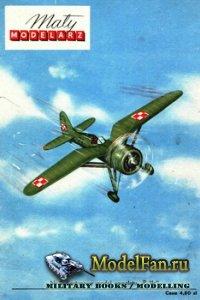 Maly Modelarz №2 (1959) - Samolot P-11c