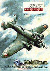 Maly Modelarz №7-8 (1959) - Samolot bombowy PZL-37