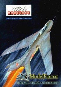 Maly Modelarz №2 (1960) - Samolot Mysliwski MiG-19