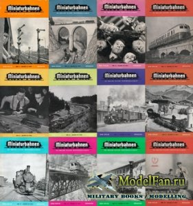 MIBA (Miniaturbahnen) журналы за 1951 год