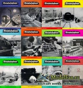MIBA (Miniaturbahnen) журналы за 1952 год