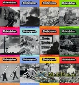 MIBA (Miniaturbahnen) журналы за 1953 год