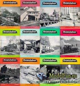 MIBA (Miniaturbahnen) журналы за 1954 год