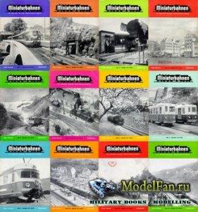 MIBA (Miniaturbahnen) журналы за 1955 год