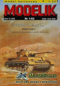 Modelik 1/2002 - PzKpfw IV Ausf.G (Panzer IV Ausf.G)
