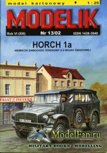 Modelik 13/2002 - Horch 1a