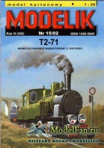 Modelik 15/2002 - Henshel & Sohn T2-71