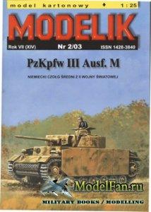 Modelik 2/2003 - PzKpfw III Ausf.M