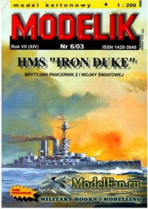 "Modelik 6/2003 - HMS ""Iron Duke"""