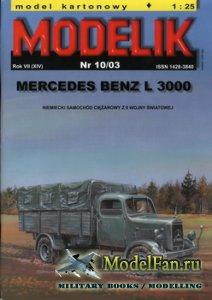 Modelik 10/2003 - Mercedes Benz L 3000