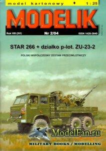 Modelik 2/2004 - STAR 266 + ZU-23-2