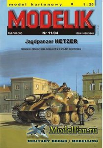 Modelik 11/2004 - Jagdpanzer Hetzer