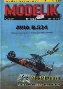 Modelik 19/2004 - AVIA B.534