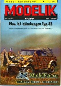 Modelik 23/2004 - Pkw. K1 Kubelwagen typ 82